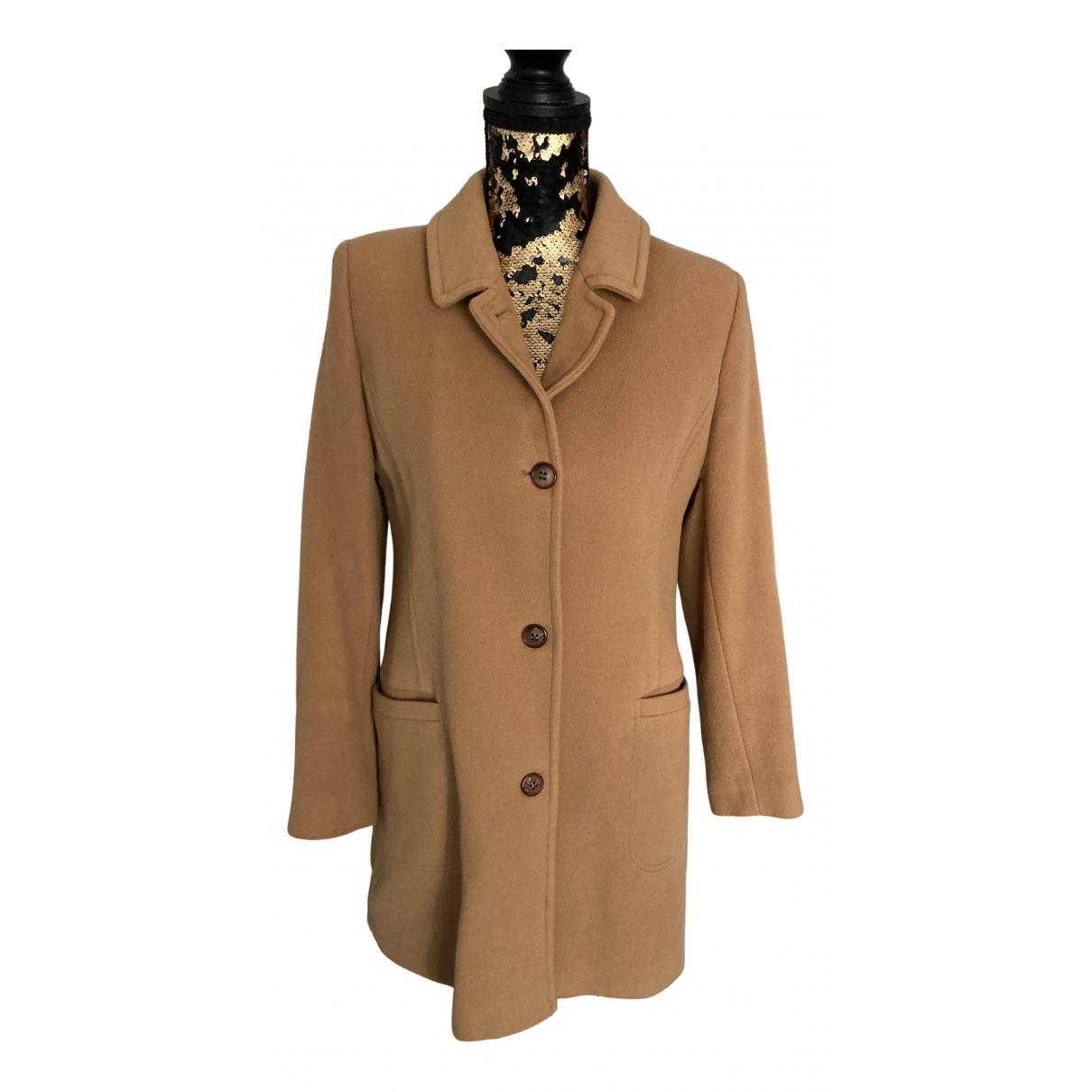 Burberry \N Beige Wool coat for Women M International