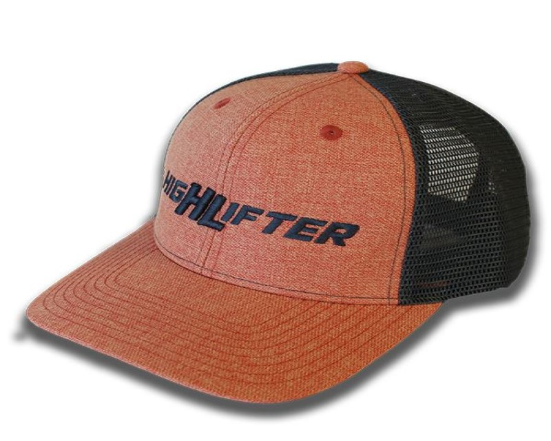 High Lifter HAT-P-2 Orange and Charcoal Grey High Lifter HAT-P-2 Logo Hat