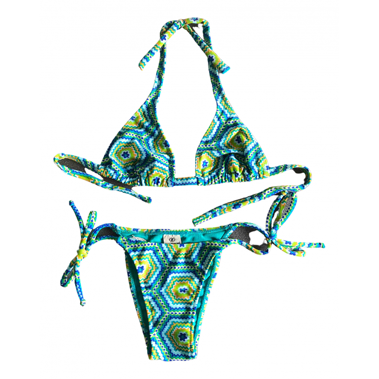 Non Signé / Unsigned \N Turquoise Swimwear for Women M International