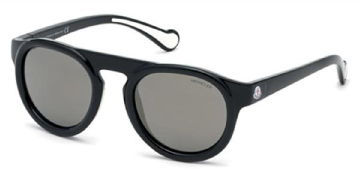 Moncler ML0088 01C Men's Sunglasses Black Size 51