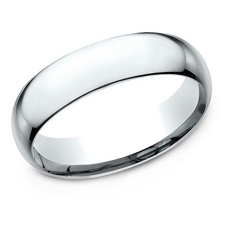 6MM Platinum Wedding Band, 4 , No Color Family