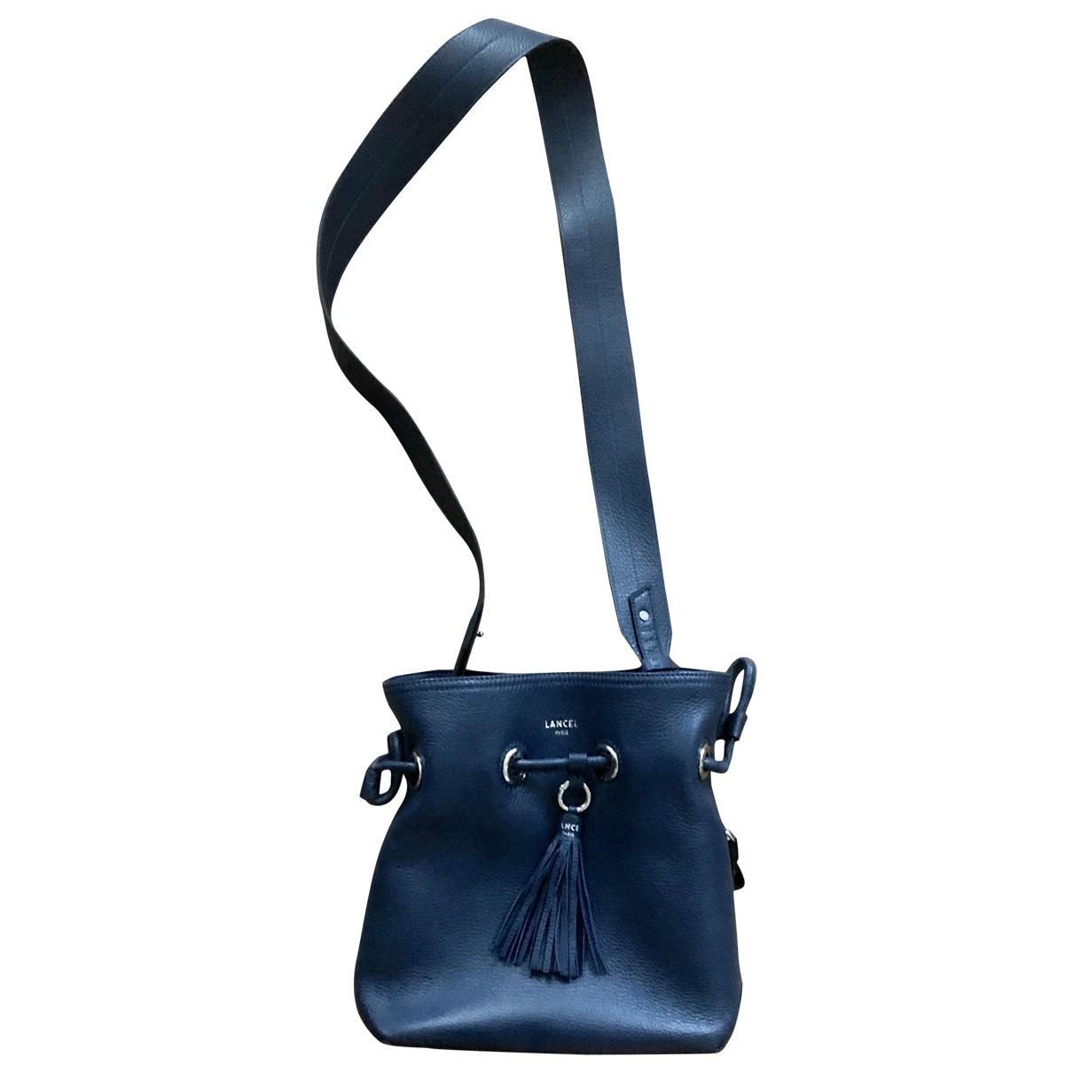 Lancel \N Blue Leather handbag for Women \N