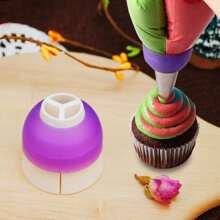 1pc Random Color Piping Nozzle Converter