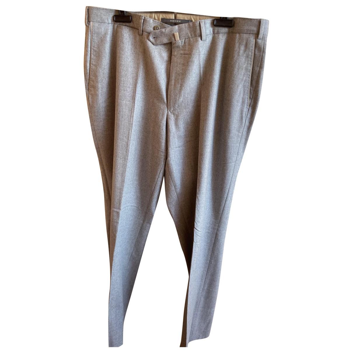 Pantalon de Lana Ermenegildo Zegna