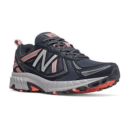 New Balance 410 Trail Womens Running Shoes, 8 Medium, Gray