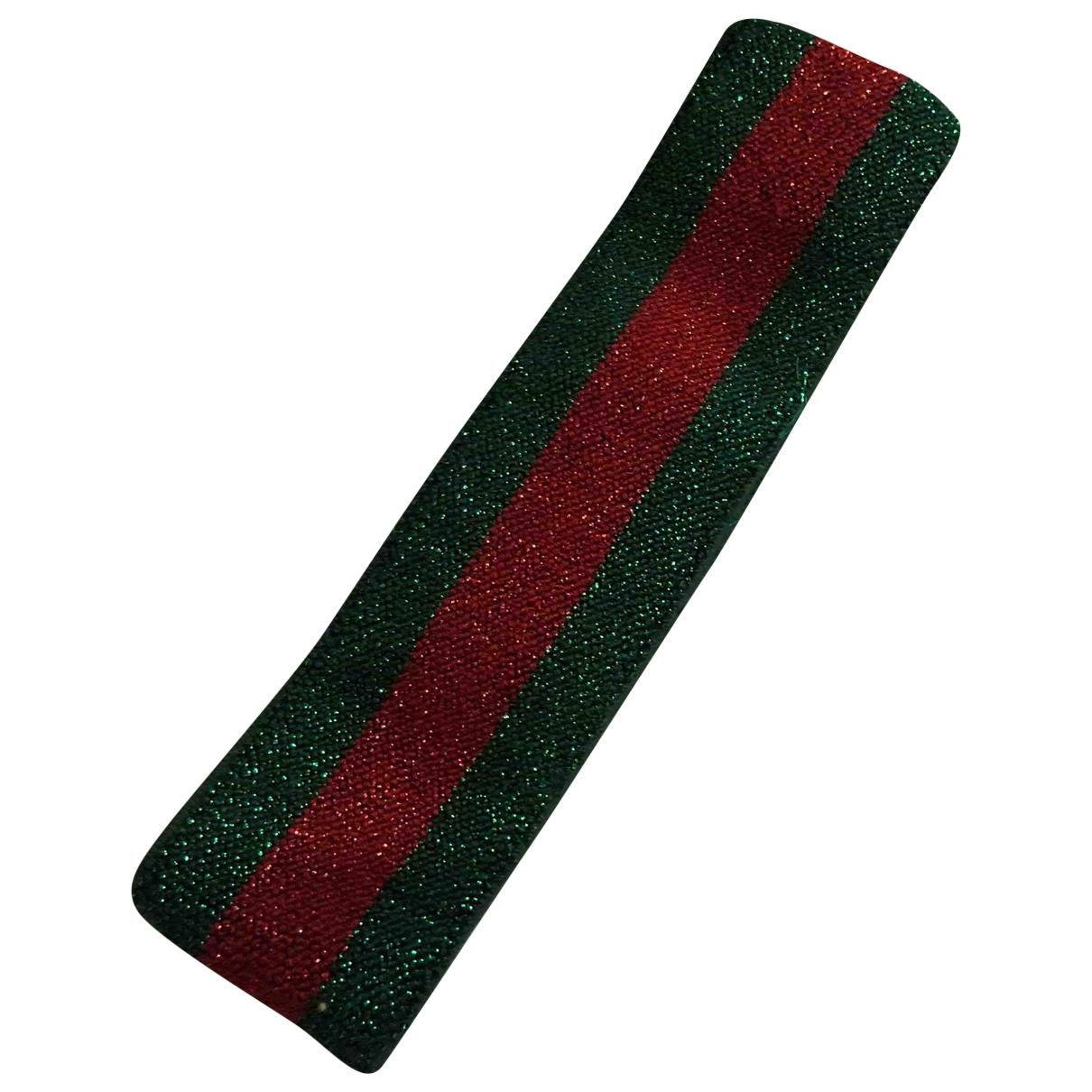 Gucci \N Green Cloth Hair accessories for Women \N