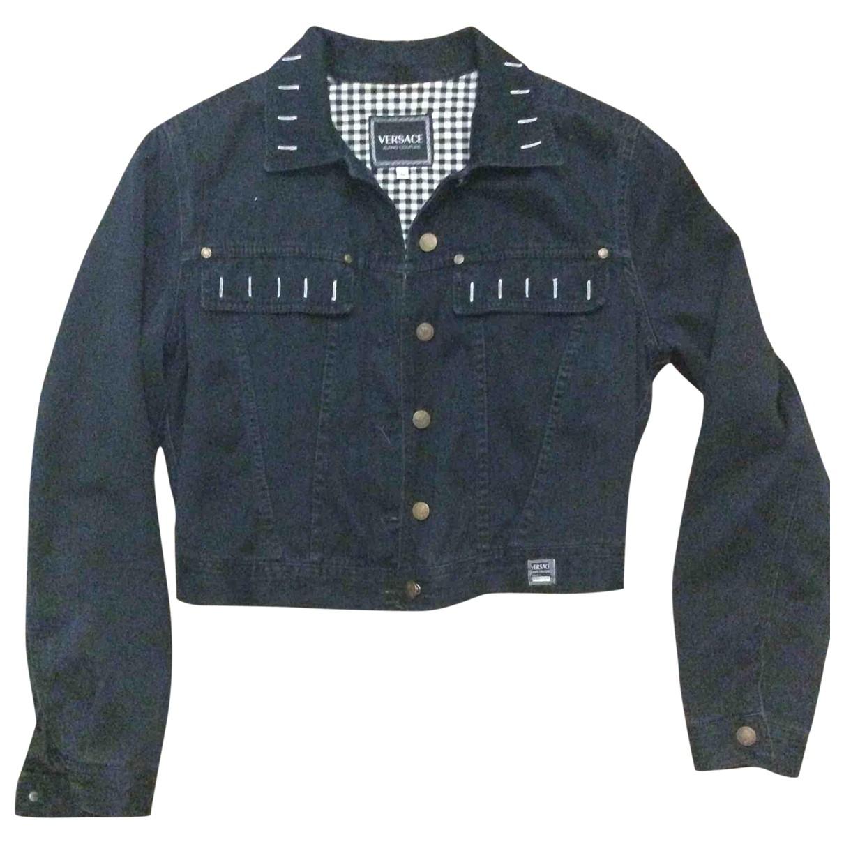 Versace Jeans \N Jacke in  Marine Denim - Jeans