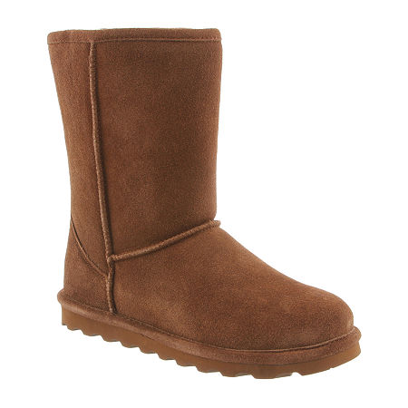 Bearpaw Womens Elle Water Resistant Flat Heel Winter Boots, 10 Medium, Brown