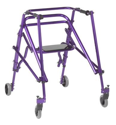 KA4200S-2GWP Nimbo 2G Lightweight Posterior Walker with Seat  Large  Wizard