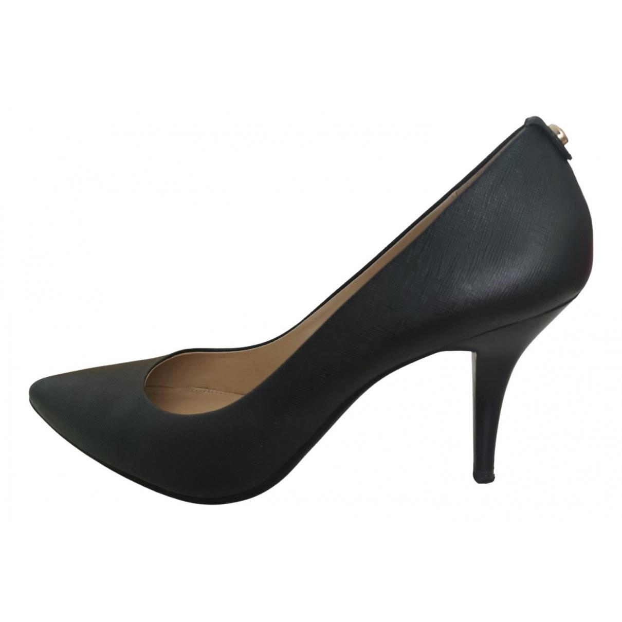 Michael Kors \N Black Leather Heels for Women 38 EU