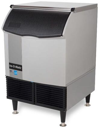 ICEU150HA Self-Contained Half Cube Ice Machine with Air Condensing Unit  Integrated Storage  Superior Construction  Cuber Evaporator  Harvest Assist
