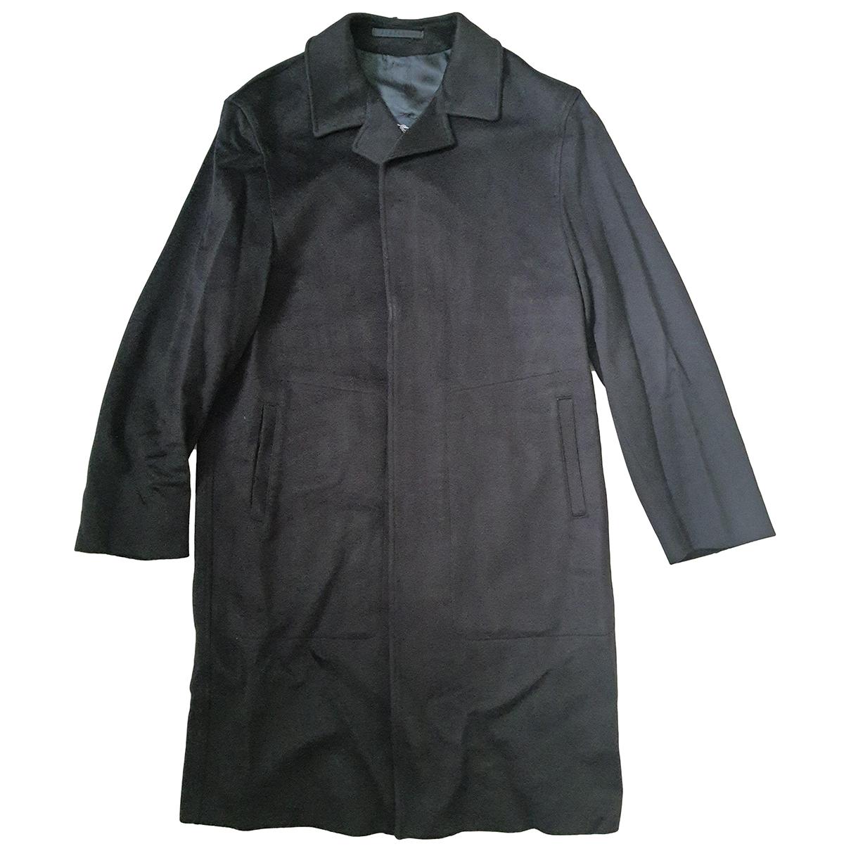 Burberry N Navy Wool coat  for Men 48 IT