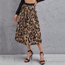 Faldas Leopardo Elegante