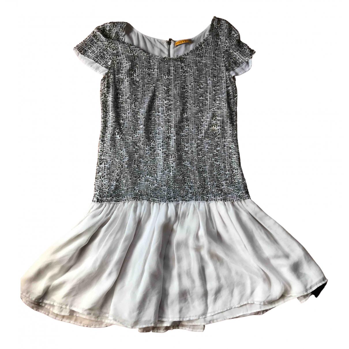 Mini vestido de Con lentejuelas Alice & Olivia