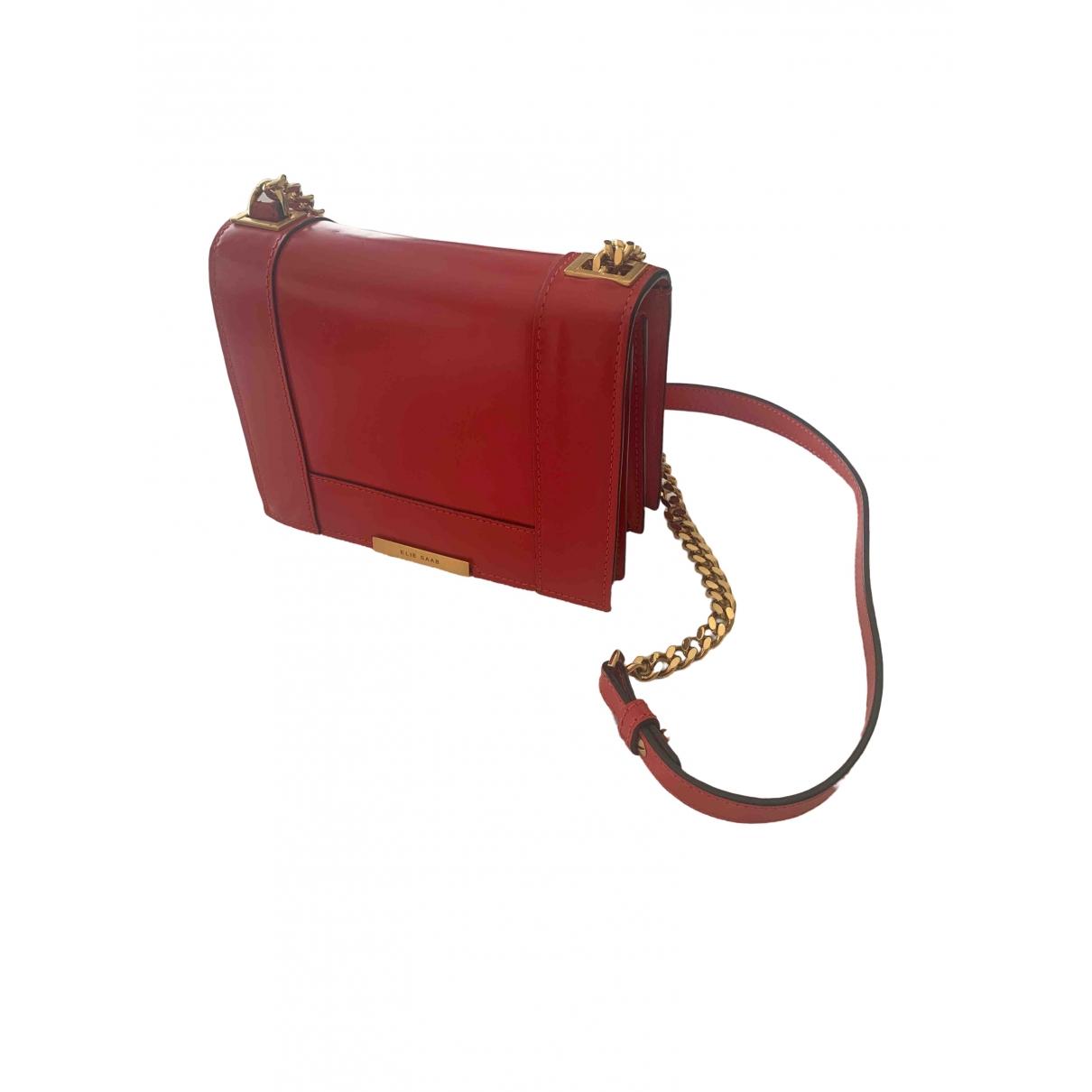Elie Saab \N Red Leather handbag for Women \N