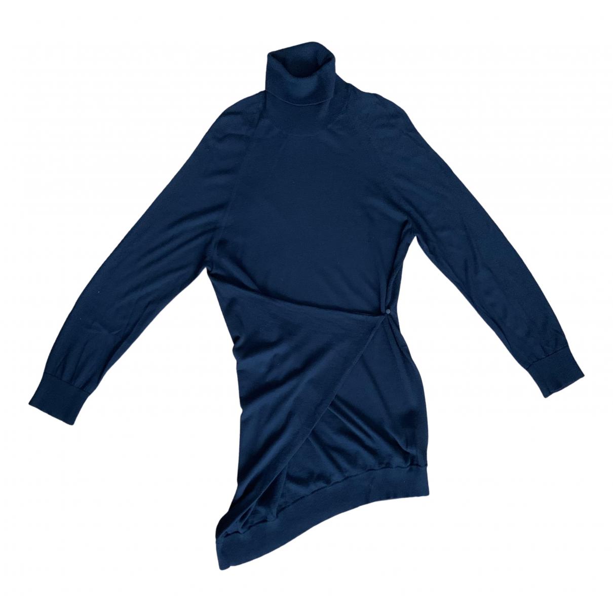 Maison Martin Margiela - Robe   pour femme en laine - noir
