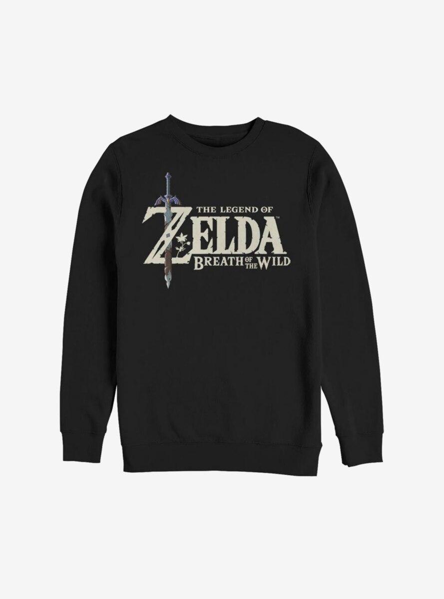 Nintendo The Legend Of Zelda: Breath Of The Wild Logo Sweatshirt