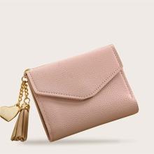Pink Quast Einfarbig Casual  Geldborsen