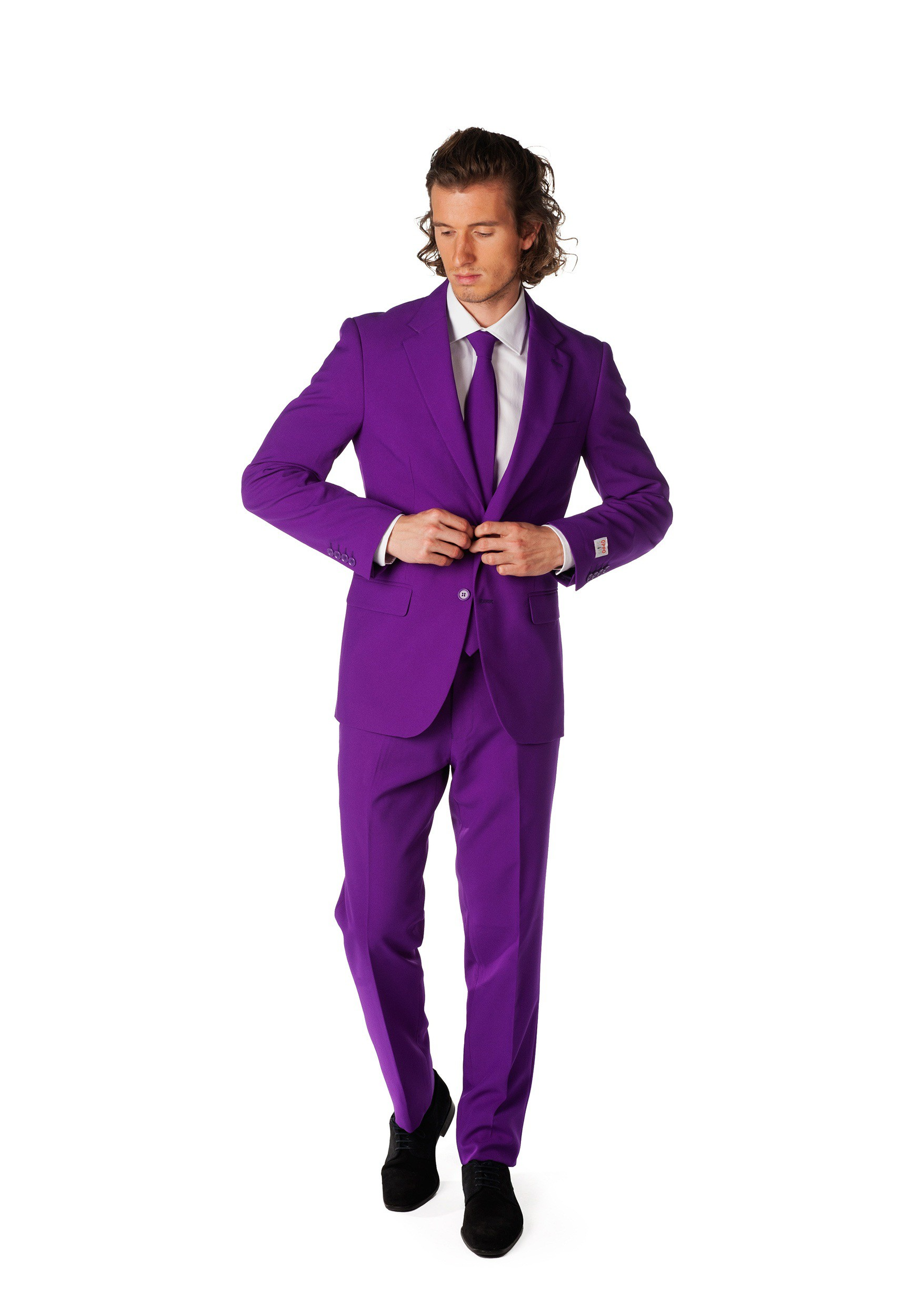 OppoSuits Men's Purple Suit