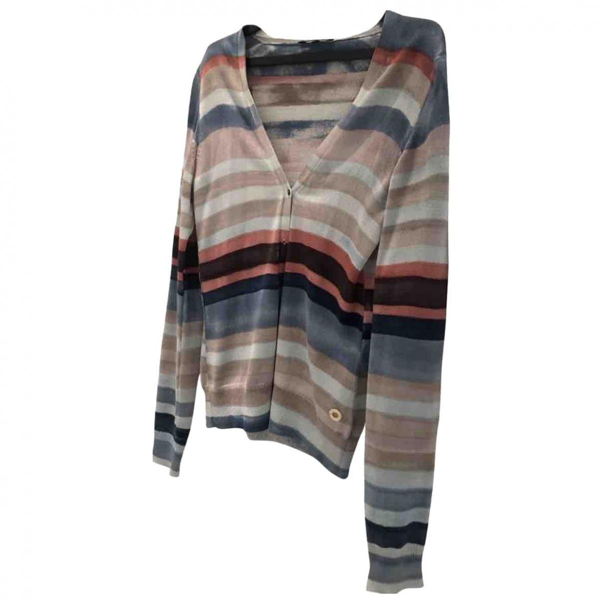 Loro Piana - Pull   pour femme en soie - multicolore