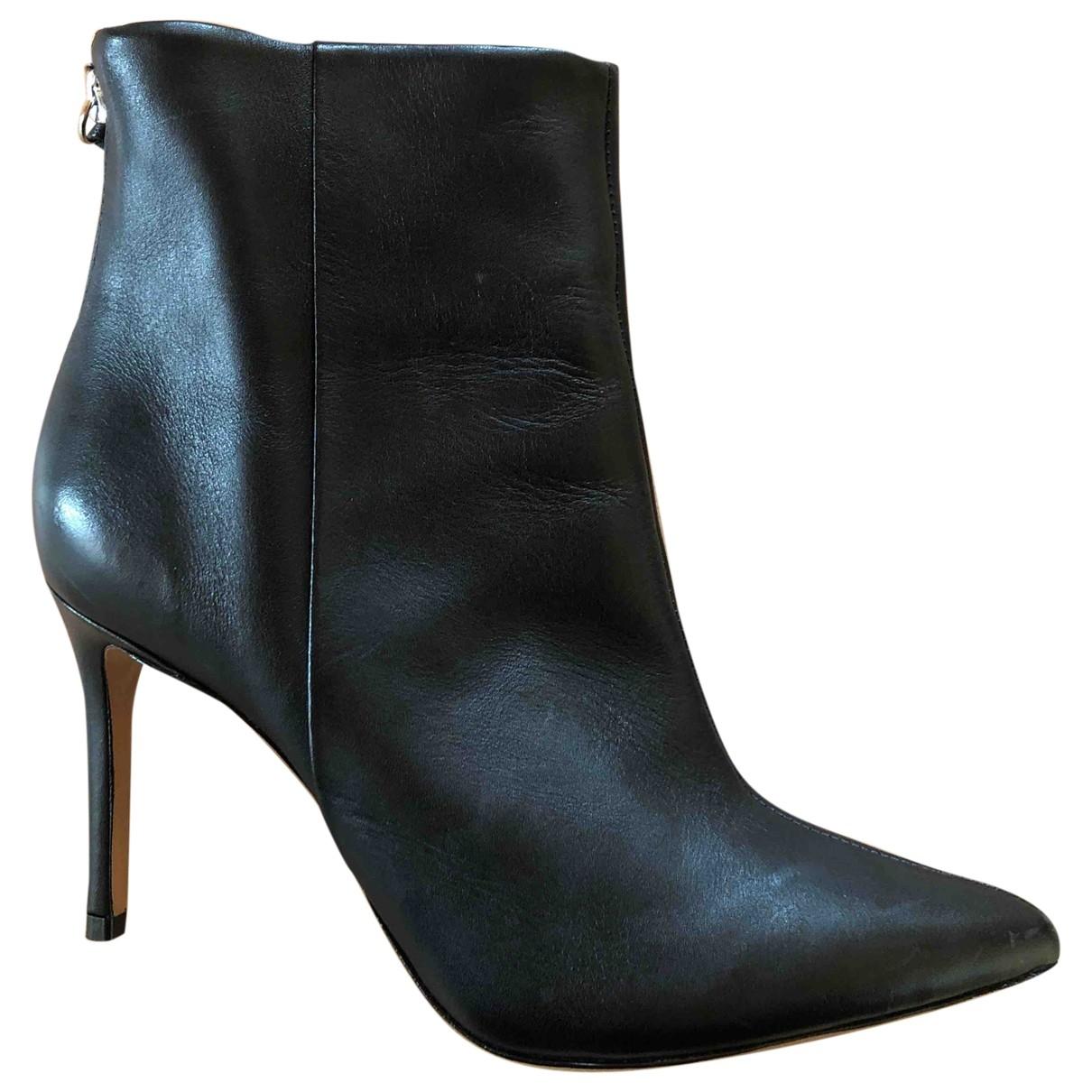 Schutz \N Sneakers in  Schwarz Leder