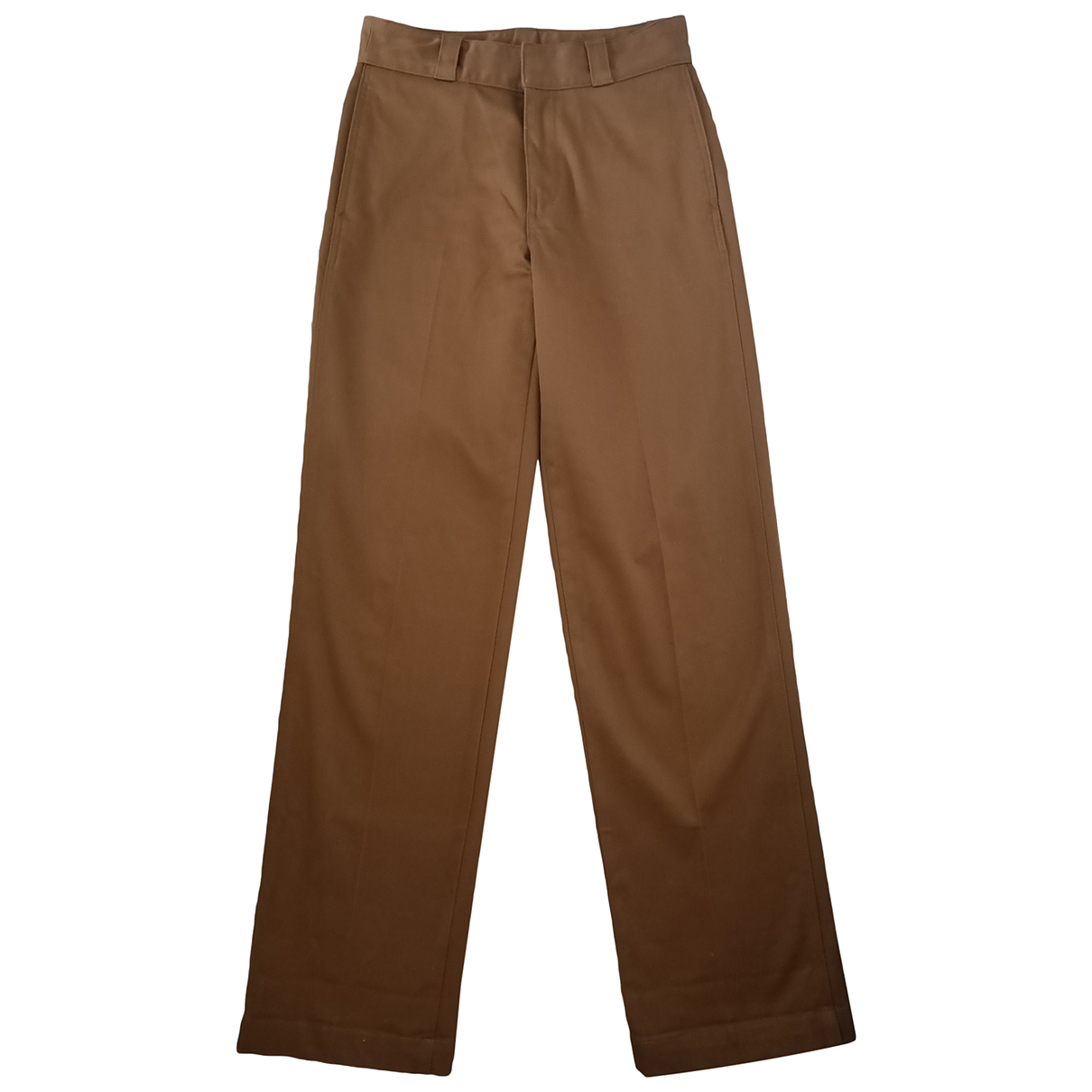 Uniqlo N Brown Cotton Trousers for Women 8 UK