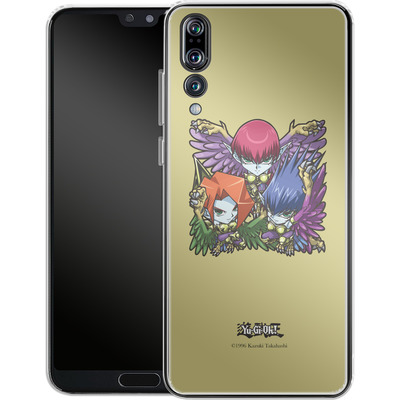 Huawei P20 Pro Silikon Handyhuelle - Harpie Lady Sisters SD von Yu-Gi-Oh!