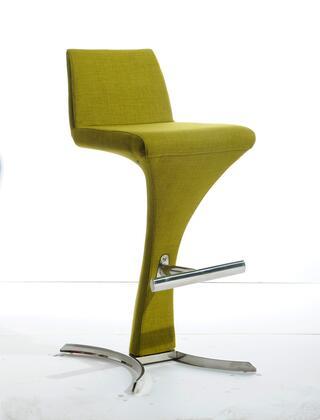 VGOBA99-F-GRN Modrest Ascella Modern Green Fabric Bar