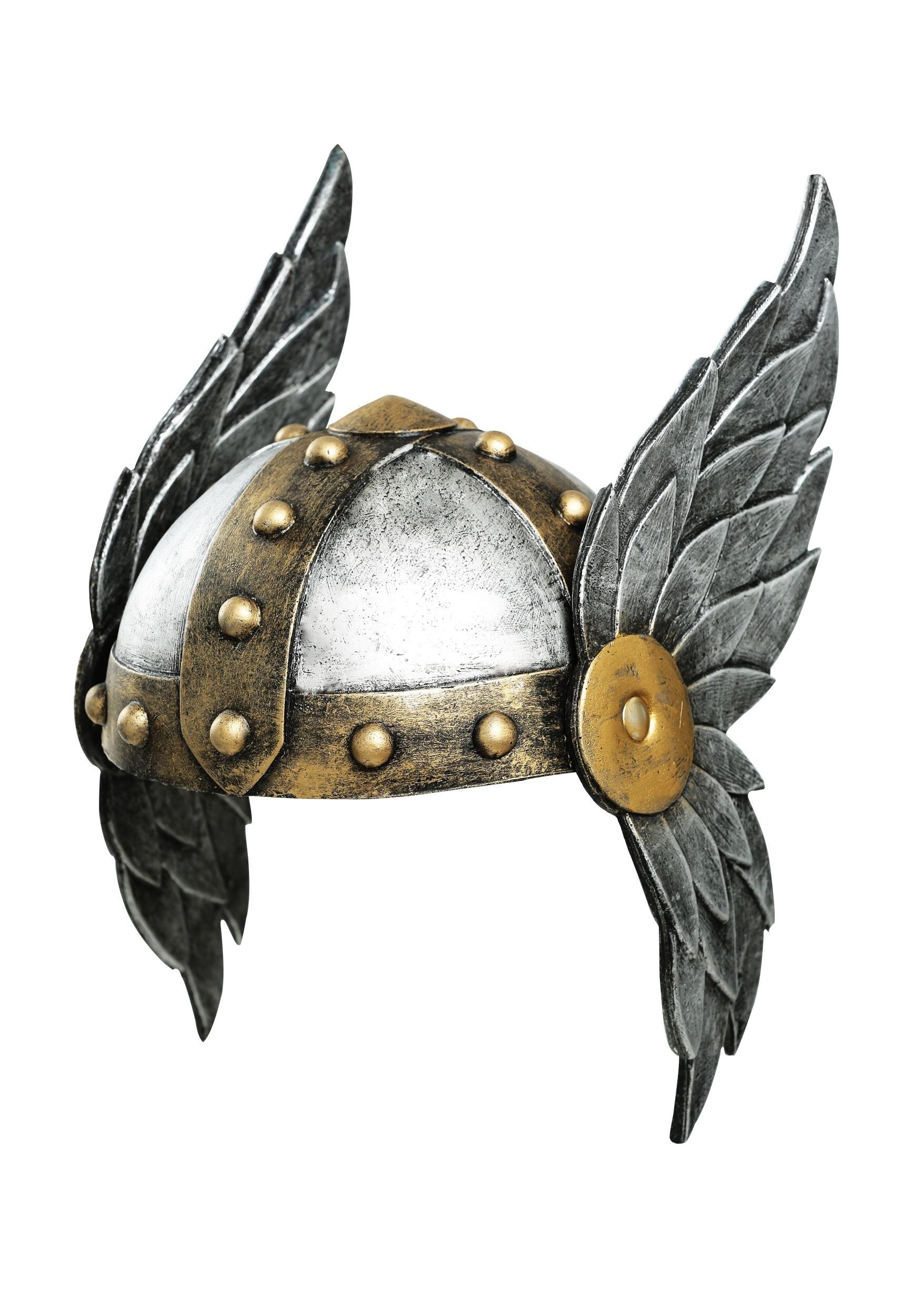 Open Face Winged Women's Helmet
