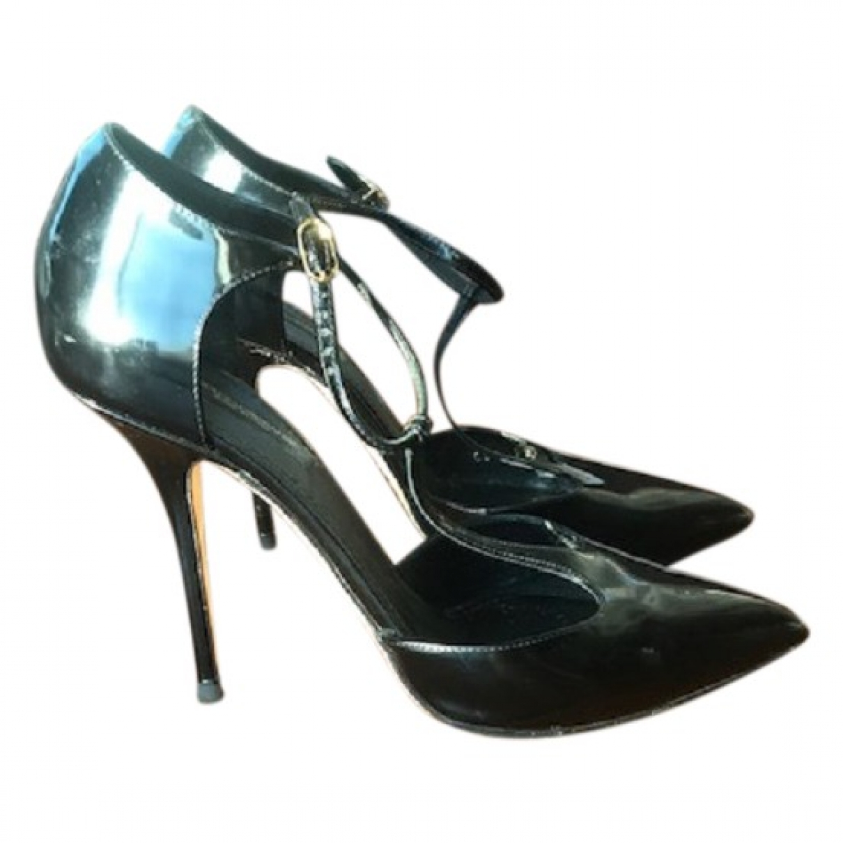 Dolce & Gabbana \N Black Leather Heels for Women 39 EU