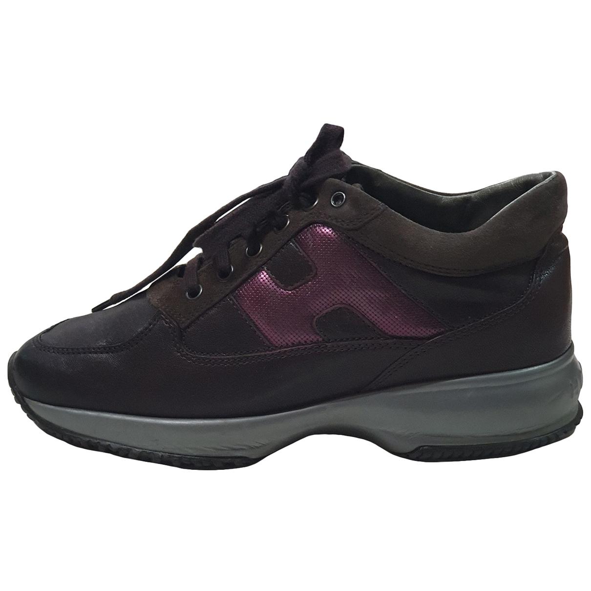 Hogan \N Leather Lace ups for Women 36.5 EU