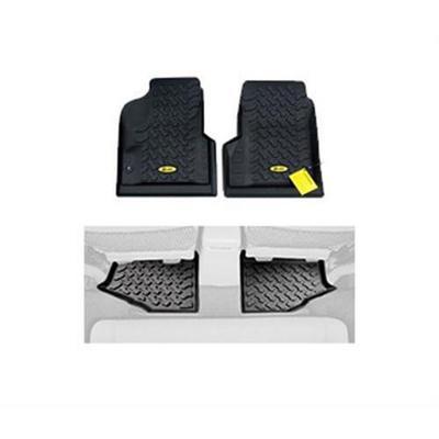 Bestop Floor Liner Package (Black) - FLLJ0406B