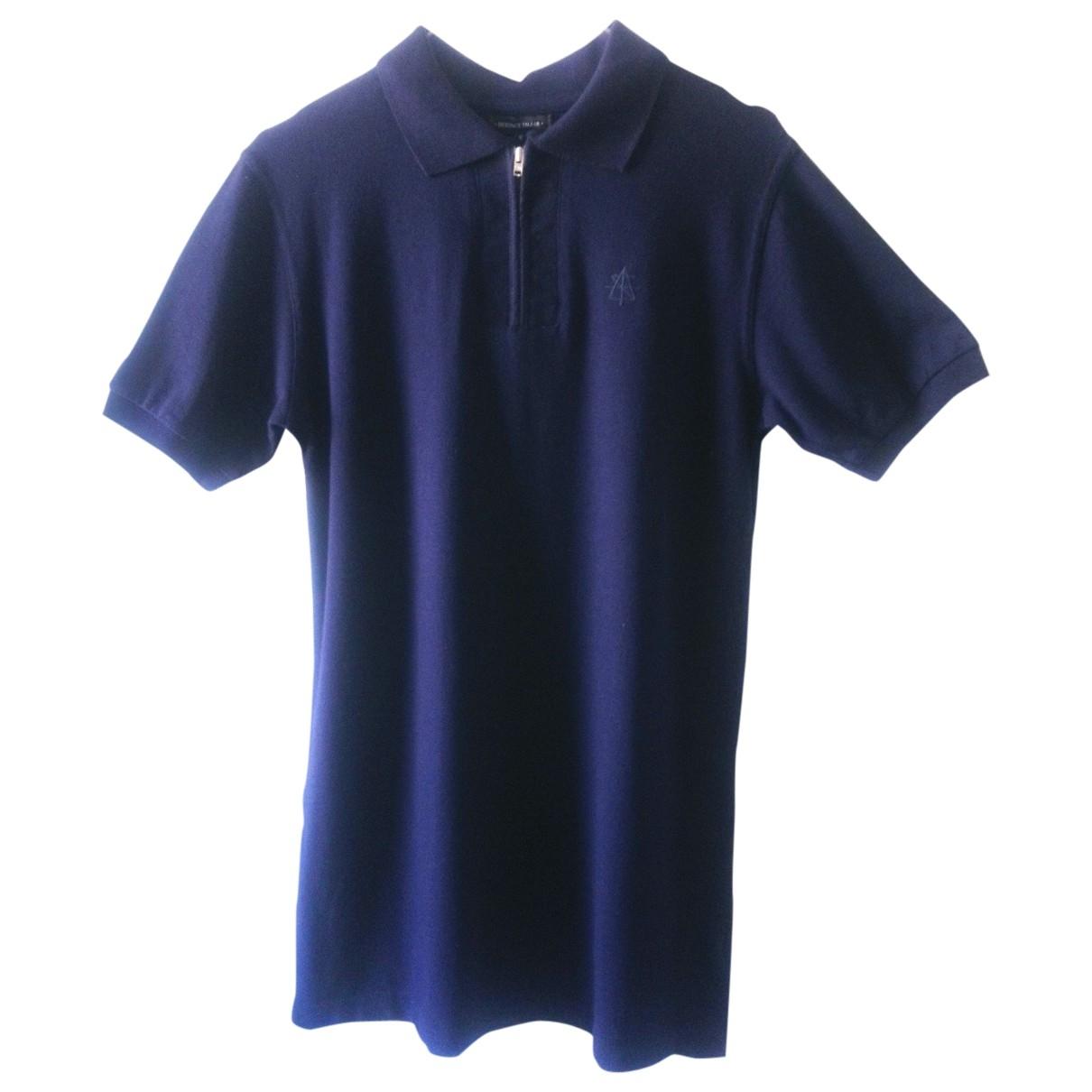 - Polos   pour homme en coton - marine