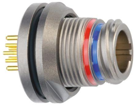 Lemo , 1M 8 Pole Din Socket Socket, 5A IP68