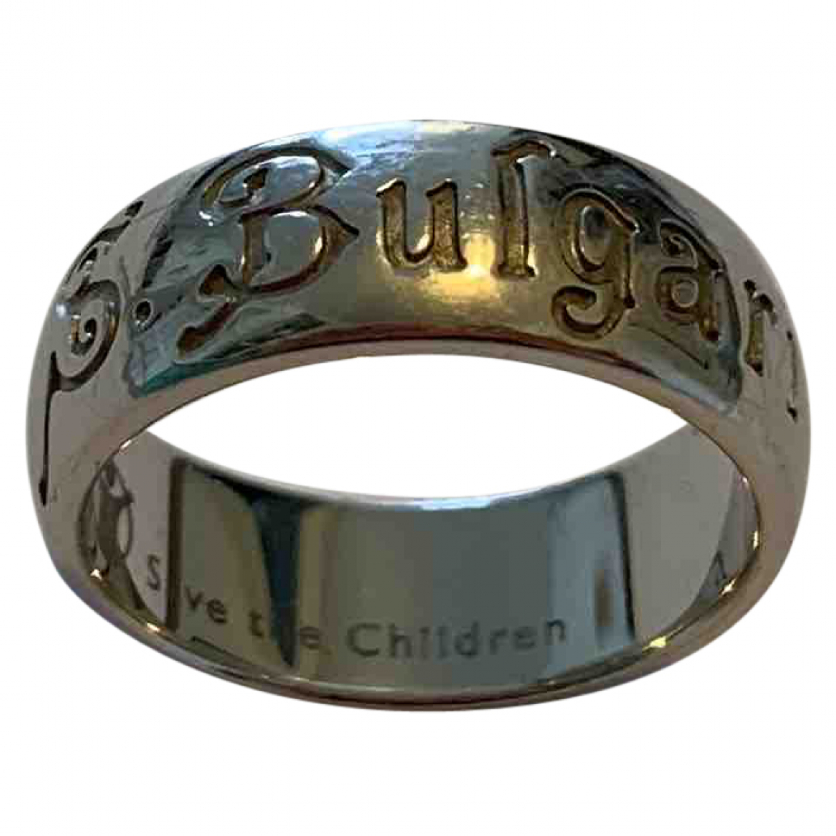 Bvlgari - Bague Save The Children pour femme en argent - argente