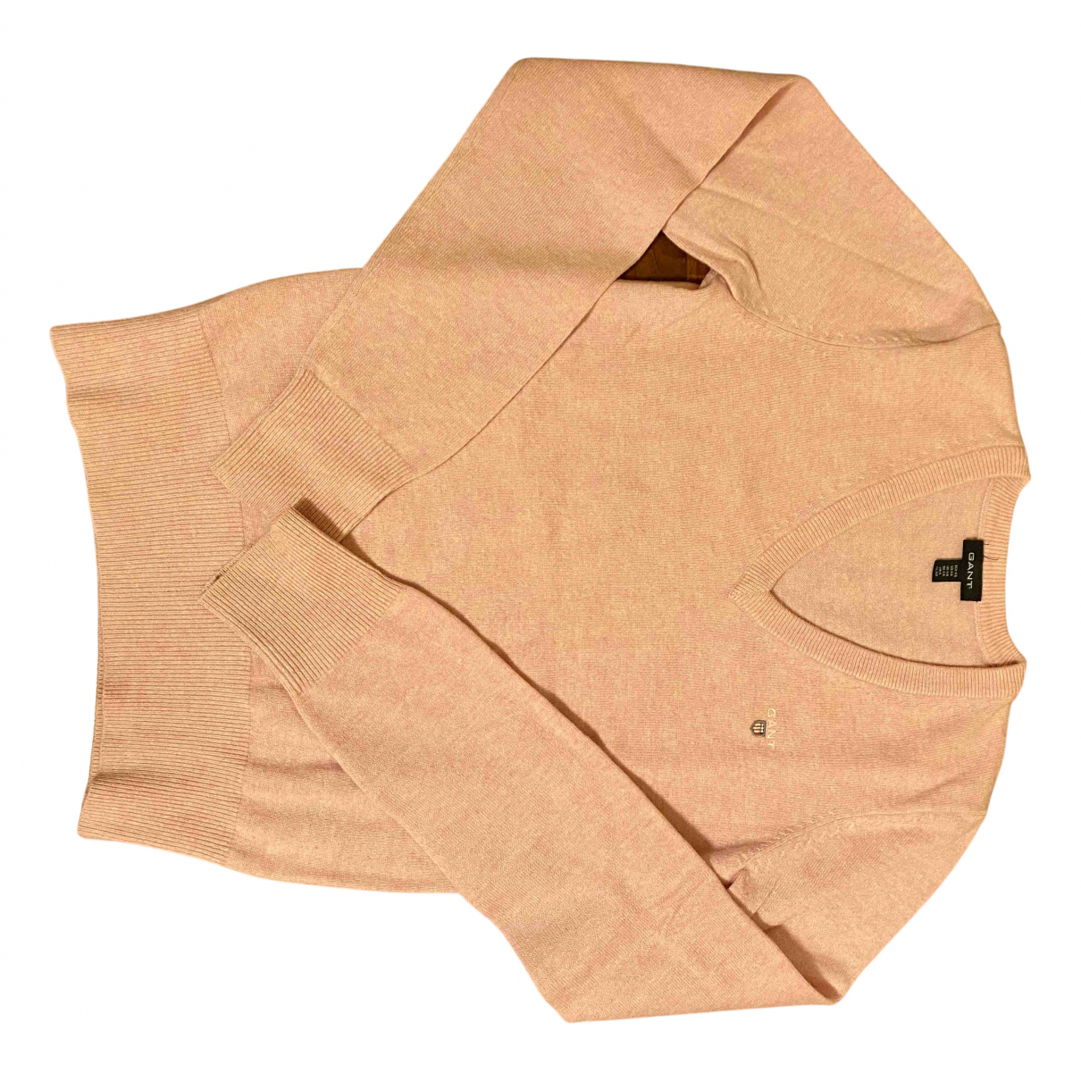 Gant \N Pullover in  Rosa Wolle