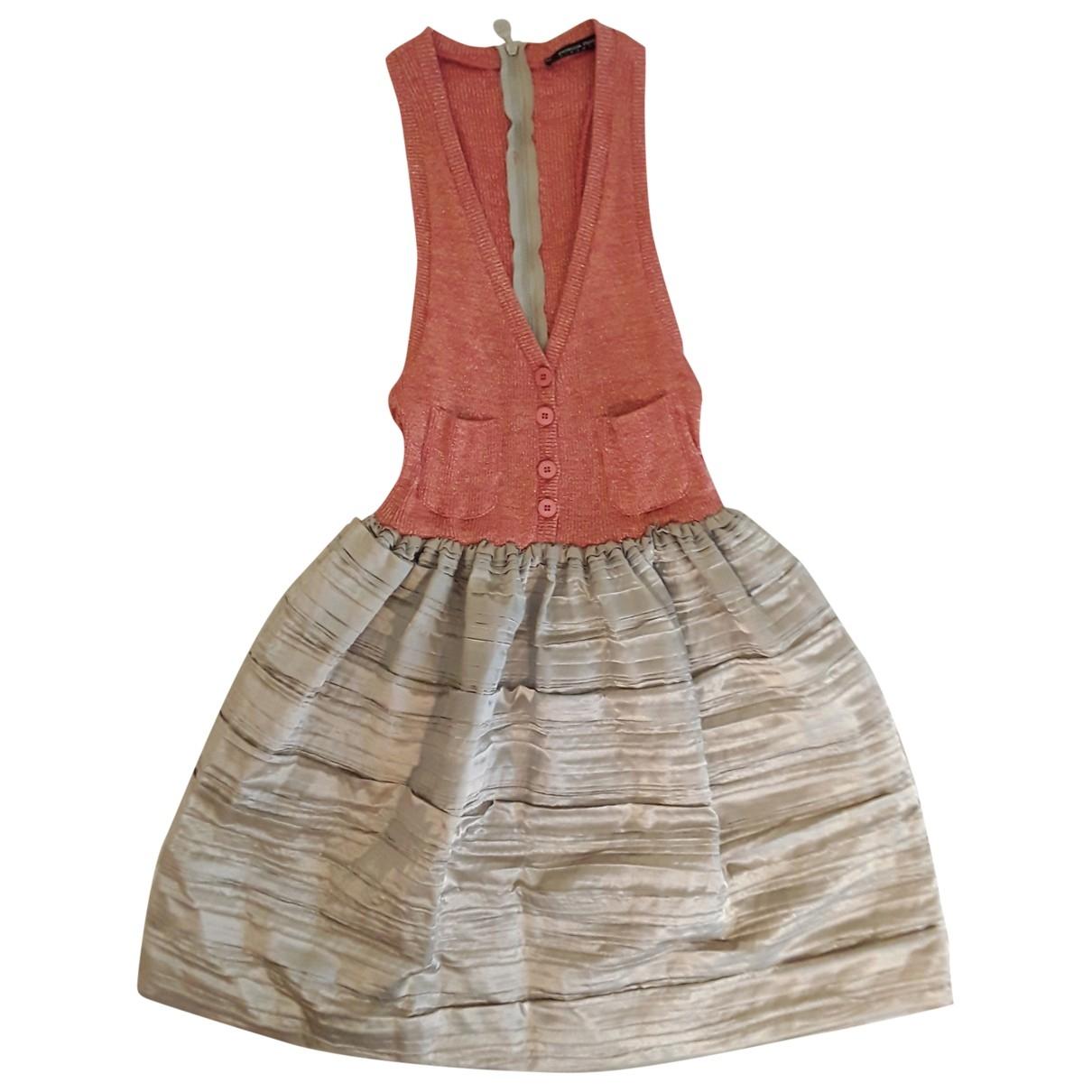 Patrizia Pepe \N Kleid in Baumwolle - Elasthan