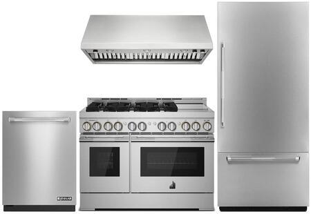 5 Piece Kitchen Appliance Package with JB36NXFXRE 36