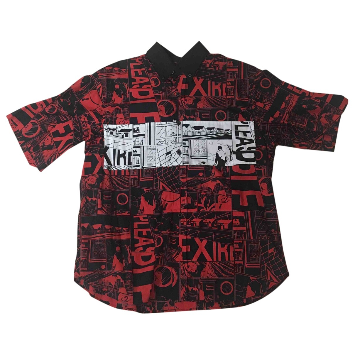 Prada \N Red Cotton Shirts for Men L International