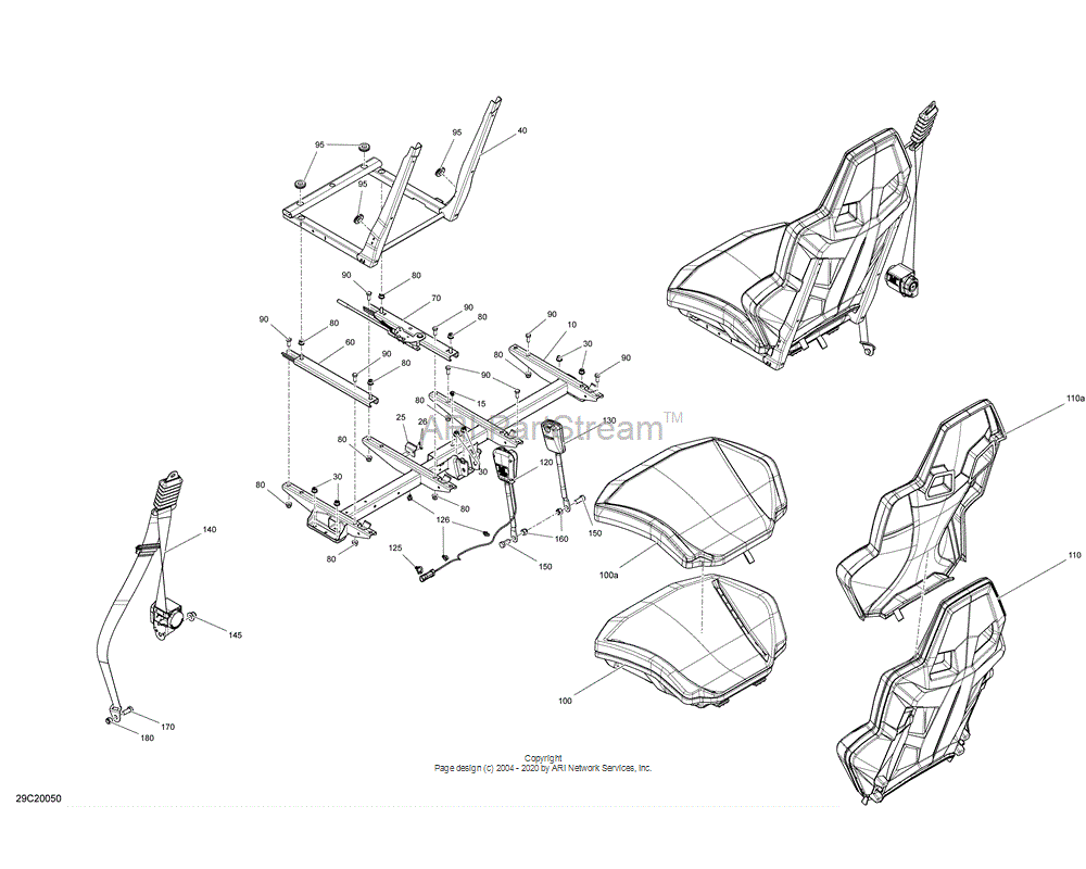 Can-AM OEM Cushion Assembly