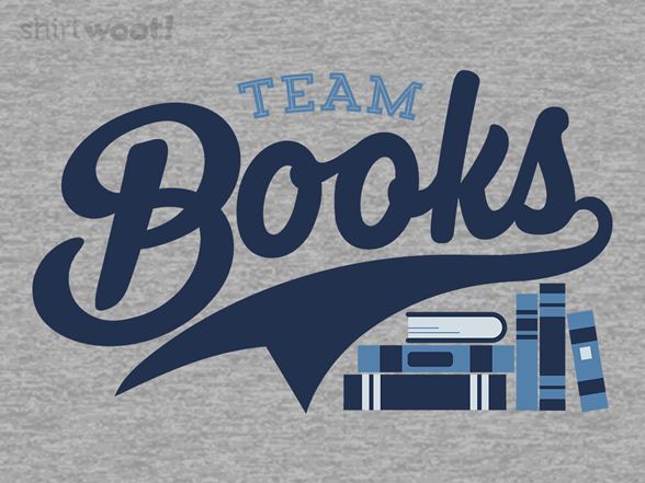 Team Books T Shirt
