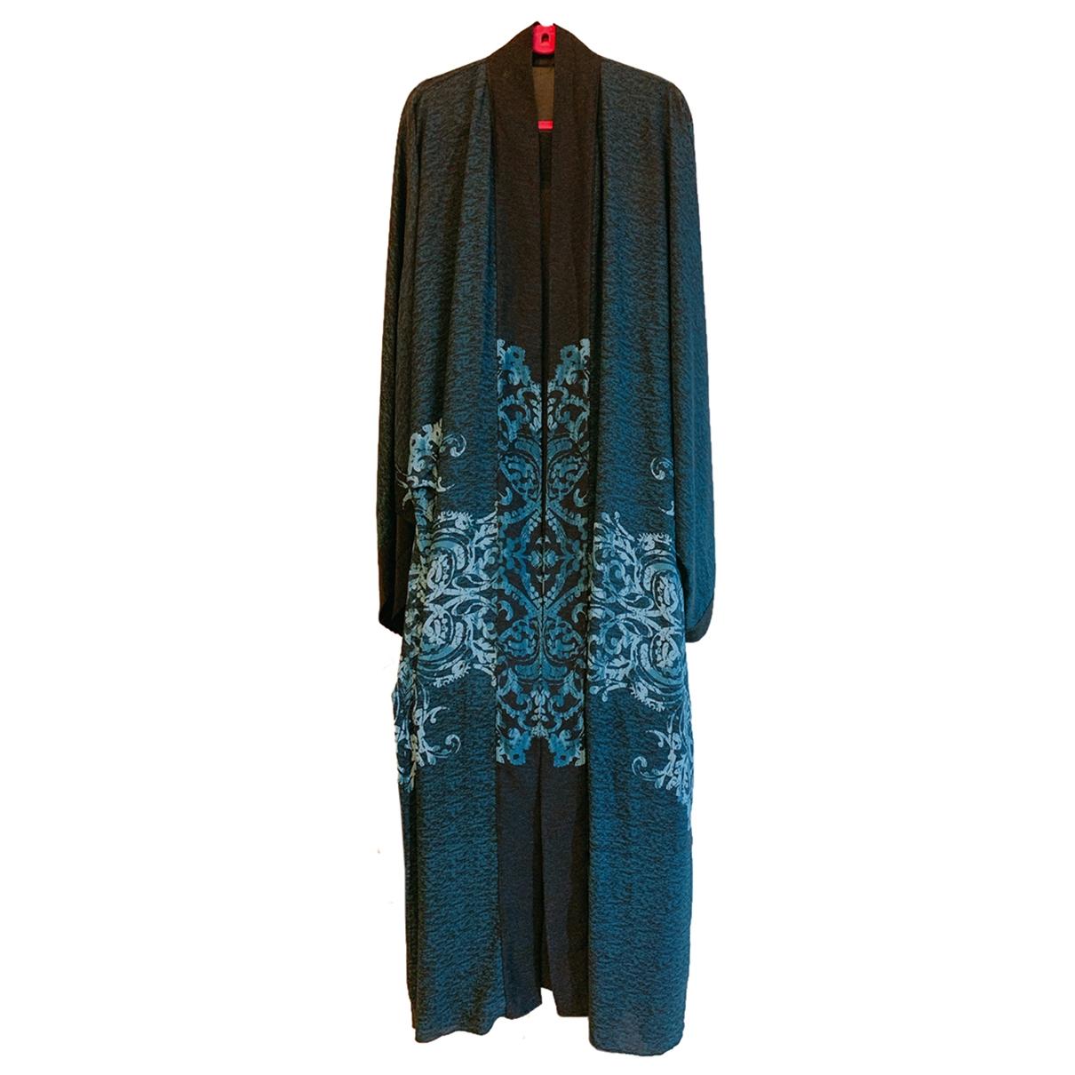 Non Signe / Unsigned Oversize Kleid in  Schwarz Baumwolle - Elasthan