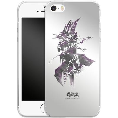 Apple iPhone SE Silikon Handyhuelle - Dark Magician von Yu-Gi-Oh!