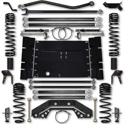 Rock Krawler LJ 4.5 Inch X Factor Long Arm 4 Inch Stretch Lift Kit - LJ45XFLA-4S
