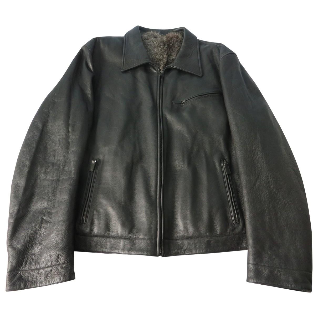 Gucci \N Black Fur jacket  for Men 56 IT