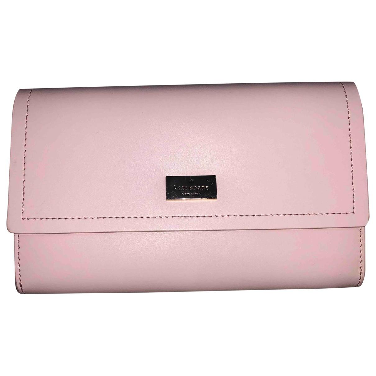 Kate Spade \N Handtasche in  Rosa Synthetik