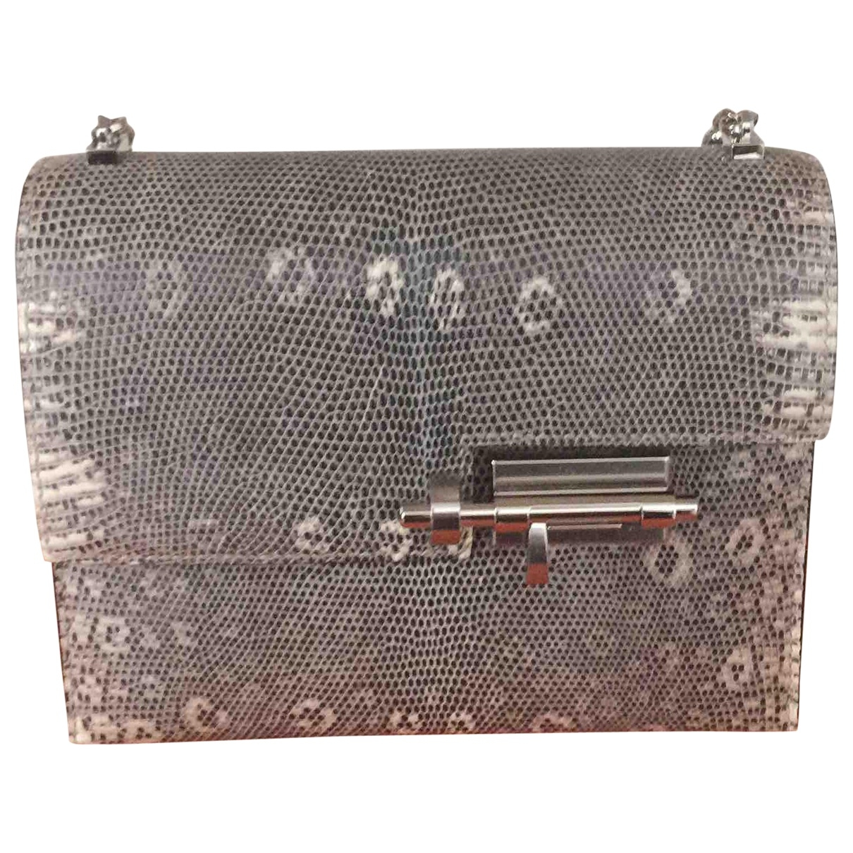 Hermès Verrou Lizard Clutch bag for Women \N