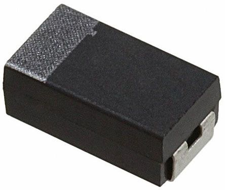 AVX Tantalum Capacitor 10μF 20V dc Electrolytic Solid, F93 (2000)