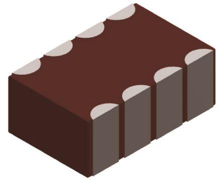 Murata , 0805 (2012M) 2.2μF Multilayer Ceramic Capacitor MLCC 4V dc ±20% , SMD LLA219C70G225MA01L (25)