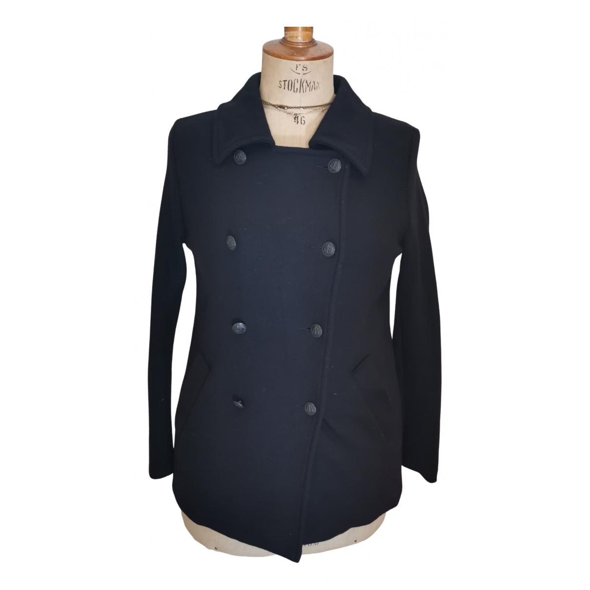 Agnes B. - Veste   pour femme en laine - noir